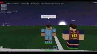 Roblox UEFA CHAMPIONS LEAGUE Barcelona vs Manchester City(SECOND GAME)