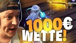 1000€ für eine Goldene Spas 12 | Fortnite | SpontanaBlack