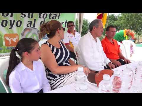 Inauguración de una zona de desarrollo social