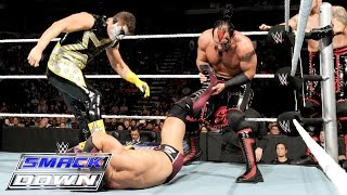 Neville & Lucha Dragons vs. Stardust & The Ascension: SmackDown, Oct. 1, 2015