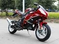 This is My Cougar Ninja 50cc Motorcycle