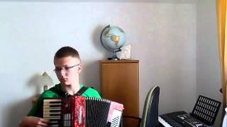Majteczki w kropeczki akordeon