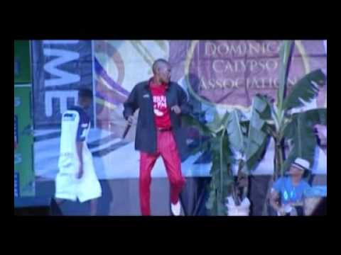 "Boople' ""Kranana"" Dominica Calypso Finals 2nd Song Live"
