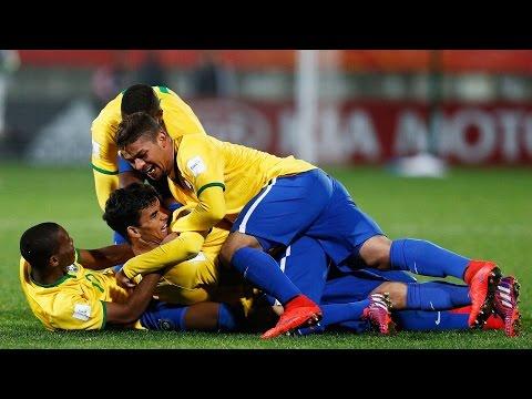 Gol de Andreas Pereira. Brasil 2-1 Hungría. (2-1). Mundial Sub-20 2015