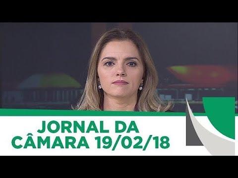Jornal da Câmara | Maia anuncia criação de observatório para acompanhar intervenção | 19/02/2018