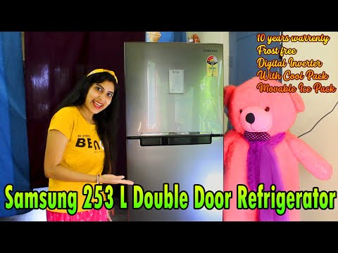 Samsung 253L Double Door 3 Star Frost Free Refrigerator (RT28T3483S8/HL) model.
