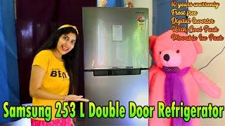 Samsung 253L Double Door 3 Star Frost Free Refrigerator RT28T3483S8 HL model