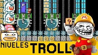 Cuando el Trolleo se Vuelve ÉPICO!! - NIVELES TROLL #7 | Super Mario Maker - ZetaSSJ