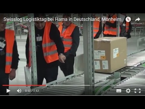 Swisslog Logistics Day at Hama in Germany, Monheim (English)