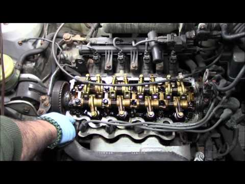 Replacing The Valve Cover Gasket On A 2001 Hyundai Accent 1.5 Liter 4 Cylinder Engine