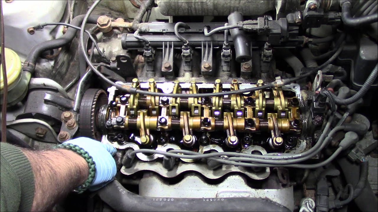 Replacing The Valve Cover Gasket On A 2001 Hyundai Accent