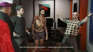 GTA 5 Online - Lần Đầu Tiên Đi Cướp Ngân Hàng Trong GTA V