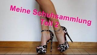 MEINE SCHUHSAMMLUNG TEIL 2/3 || MY HIGH HEEL SHOE COLLECTION PART 2/3