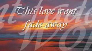 shayne ward stand by me with lyrics