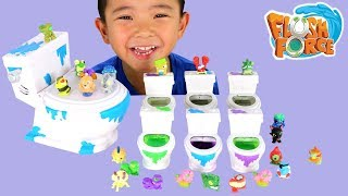 Flush Force Surprise Monsters Collectable Opening Fun With Ckn Toys
