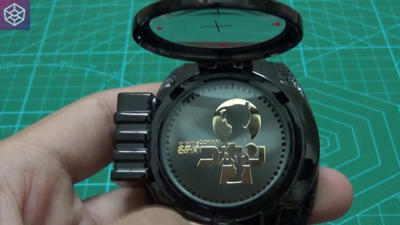 [Box8] Giới thiệu Đồng hồ LED Thám tử lừng danh Conan - Đồng hồ Conan LED