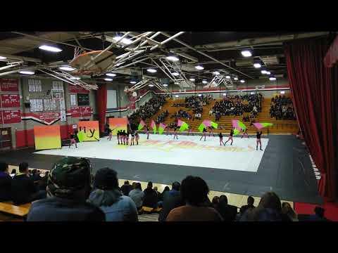 """Chaffey High School Winterguard """"My Imagination"""" @ Ayala High School 3-2-19"""