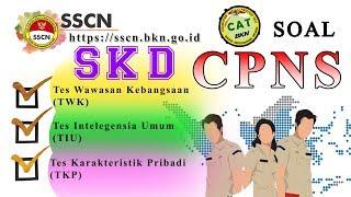 Download Video Soal Tes SKD CPNS TWK, TIU, TKP Untuk Pencapaian Passing Grade CAT 2018 MP3 3GP MP4