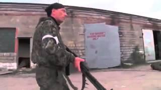 Война на Украине Первые реальные бои в Донецком аэропорту Ukraine War   War in Donbass  First Battle