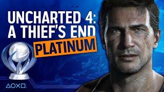 Uncharted 4: A Thief's End - Platinum SpeedRun