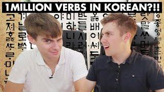 🇰🇷 KOREAN VERBS MAKE OLLIE CRY