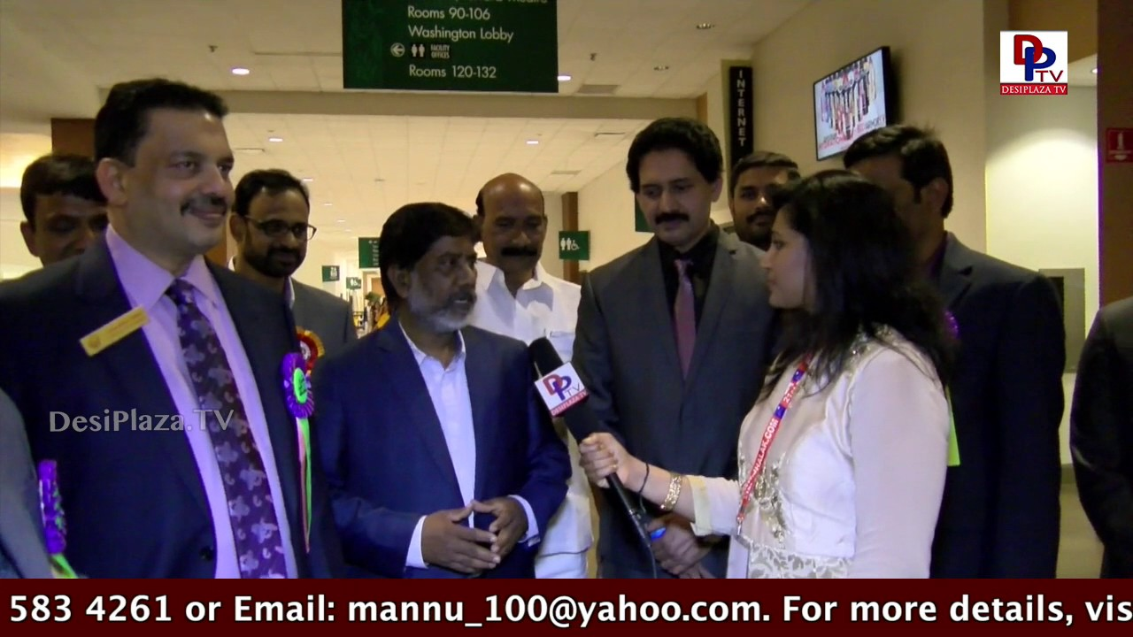 Interview with Congress leader Bhatti Vikramarka at  TANA Conference - 2017 - St Louis
