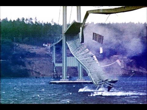 Tacoma Narrows Bridge Collapse - Gallopin' Gertie (1940)