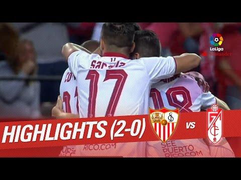 Resumen de Sevilla FC vs Granada CF (2-0)