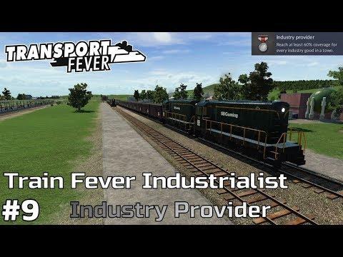 Industry Provider [1939-45] - Transport Fever [Train Fever Industrialist] [ep9]