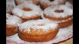 Пончики творожные / Donuts cheese