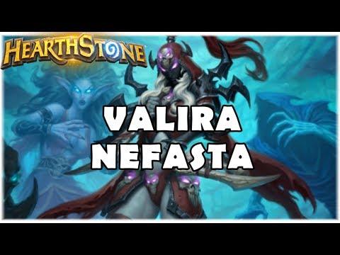 HEARTHSTONE - VALIRA NEFASTA! (STANDARD DK N'ZOTH JADE ROGUE)