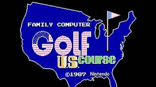 Family Computer Golf - U.S. Course(FDS)(Japan)(DV 2)(Disk Writer) Intro(Take 1)(08-02-17)
