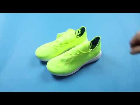 c164b36f1a2aa CAPO STORE   언박싱 - adidas X 18+ TR  ENERGY MODE  (Solar Yellow ...