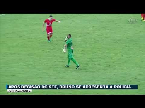 Goleiro Bruno Se Apresenta à Polícia Após Decisão Do STF