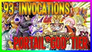 Dokkan Battle | 93 INVOCATIONS PORTAIL GOD TIER PARTIE 1