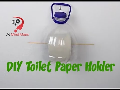 Contemporary Diy Toilet Paper Holder Painting