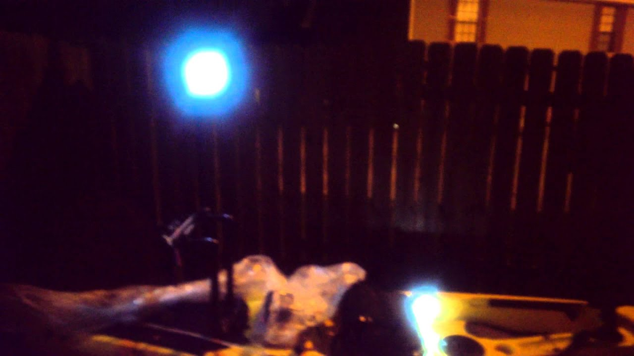 Kayak lights for night fishing youtube for Kayak lights for night fishing