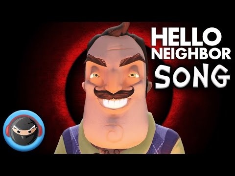 "HELLO NEIGHBOR SONG ""What Are You Hiding?"" by TryHardNinja"