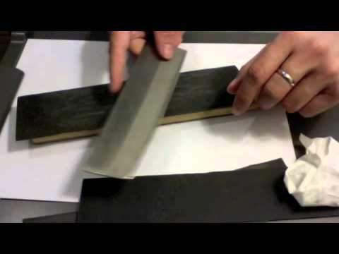Convexing a Cheap Kitchen Knife to Crazy Sharpness