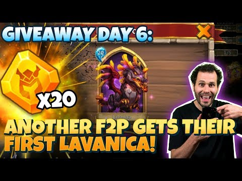 Free 2 Play Gets Lavanica + WAY MORE Castle CLash