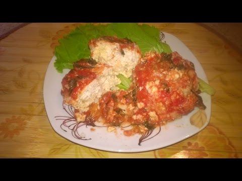 Томатном ежики в томатном соусе в мультиварке