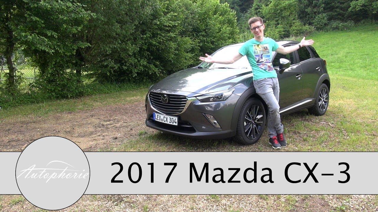 2017 mazda cx-3 skyactiv-g 120 fwd fahrbericht / neue farben, neue