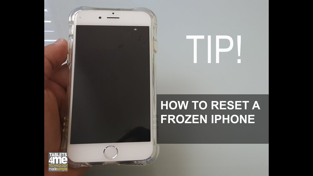 what to do when your iphone freezes frozen iphone here is how to restart a frozen iphone any 7363