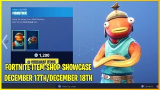 NEW FISHSTICK SKIN! | FORTNITE ITEM SHOP TODAY! | CHRISTMAS SKINS! (26th December)