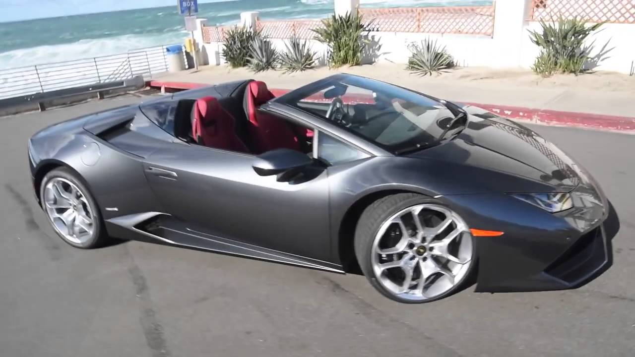 lamborghini hurac n spyder convertible in action youtube. Black Bedroom Furniture Sets. Home Design Ideas
