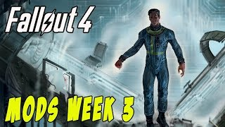 FALLOUT 4 MODS - WEEK #3: Big Boobs, Super V.A.T.S, Body Collison, New Ghouls & More!