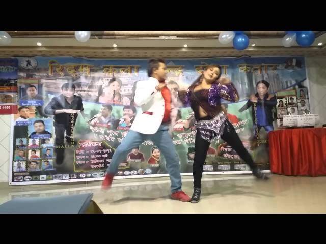 hot dance by parbati rai & prakash bhatta in qatar