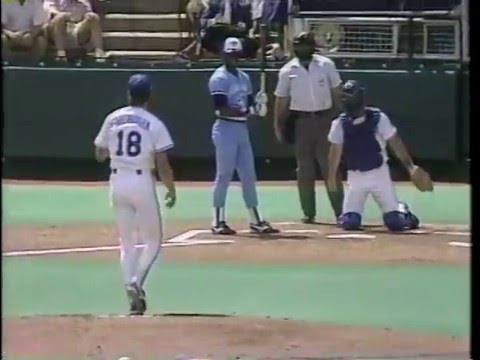 April 4, 1988 Toronto Blue Jays at Kansas City Royals Part 1