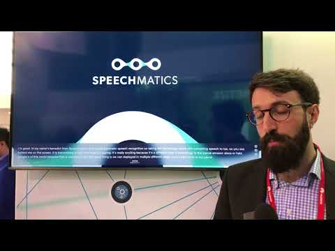 Speechmatics Converts Speech to Text in Real Time