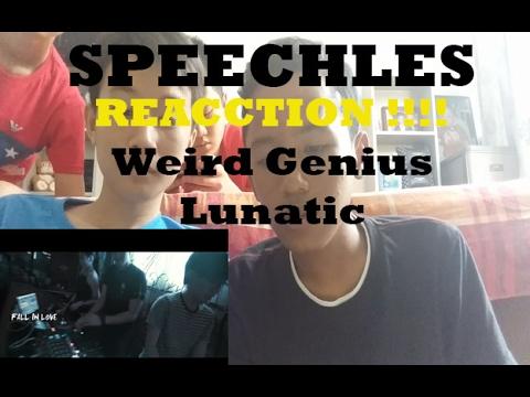 Reaction  Weird Genius ftLetty   Lunatic  Lyrics   Speechless